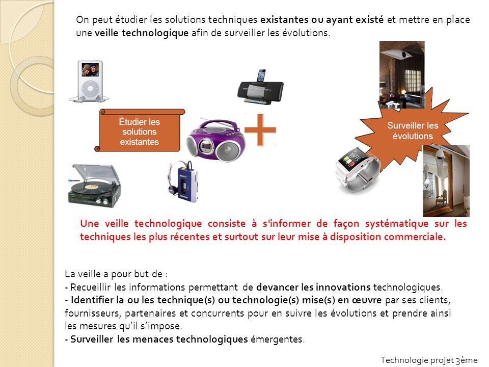 - Surveiller les menaces technologiques émergentes.
