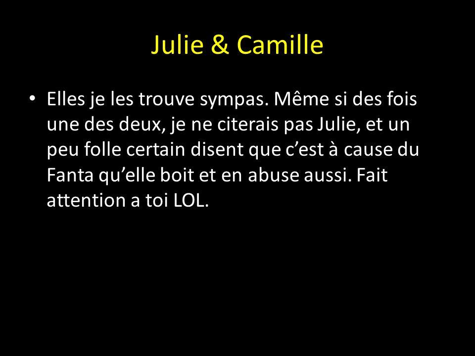 Julie & Camille