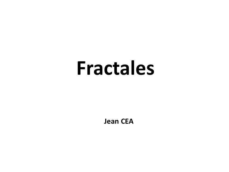 Fractales Jean CEA
