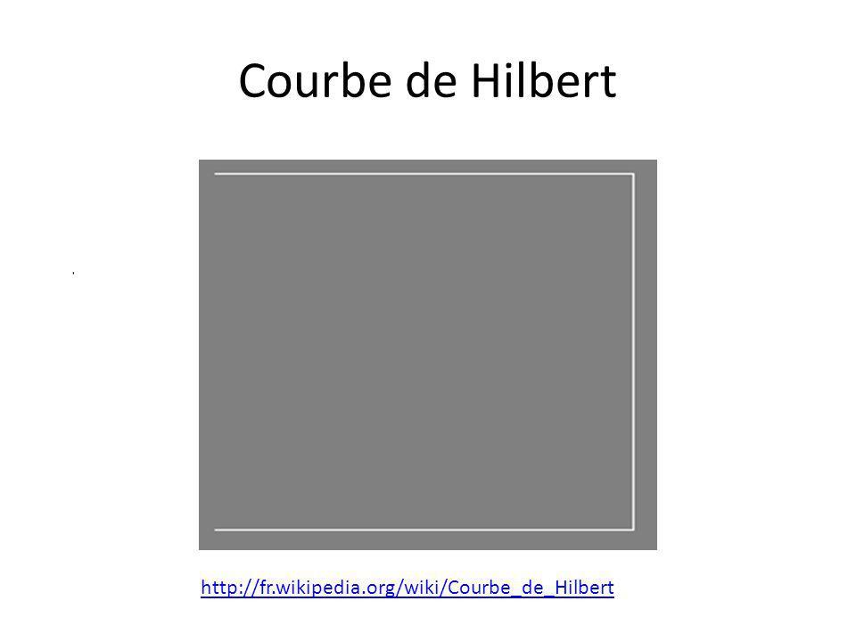 Courbe de Hilbert http://fr.wikipedia.org/wiki/Courbe_de_Hilbert