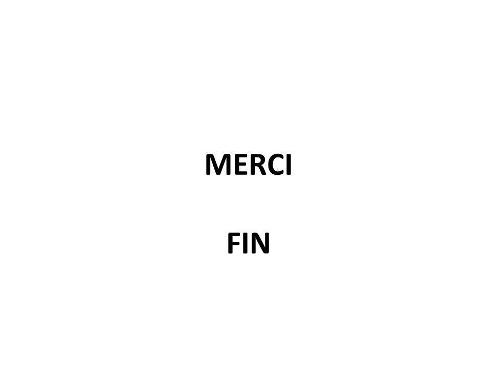 MERCI FIN