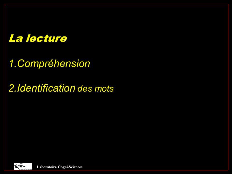 2.Identification des mots