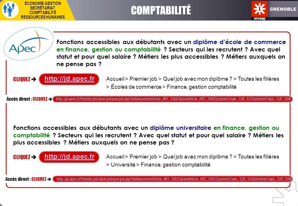 COMPTABILITÉ http://jd.apec.fr http://jd.apec.fr