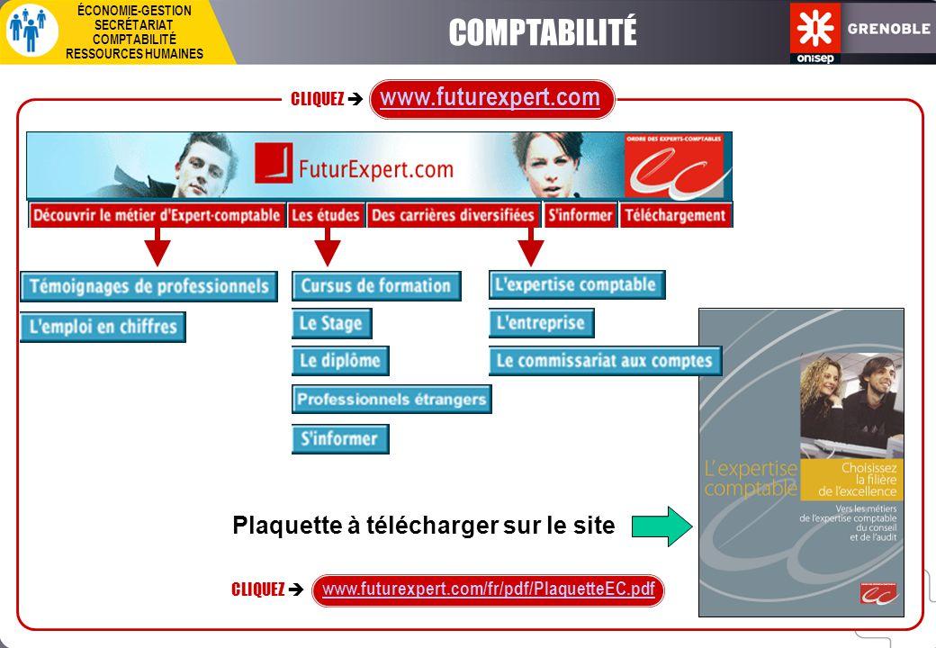 COMPTABILITÉ www.futurexpert.com Plaquette à télécharger sur le site