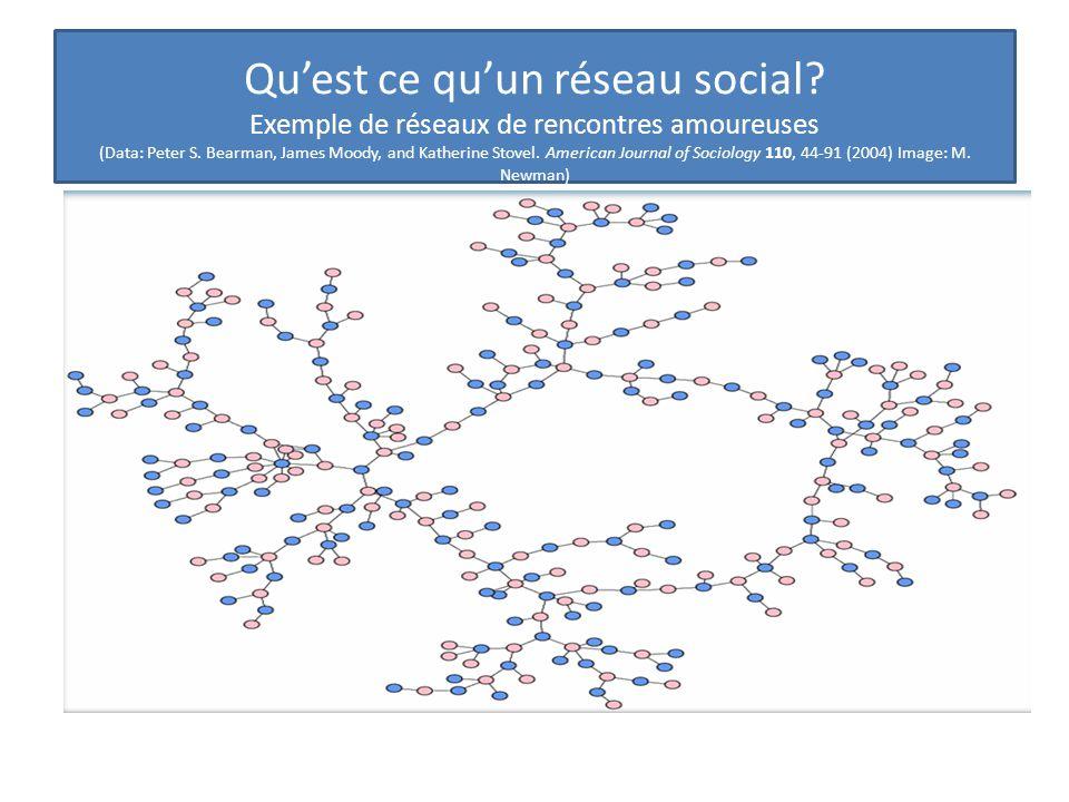 Qu'est ce qu'un réseau social
