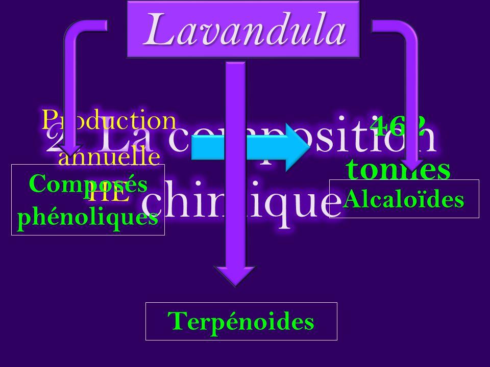 2. La composition chimique
