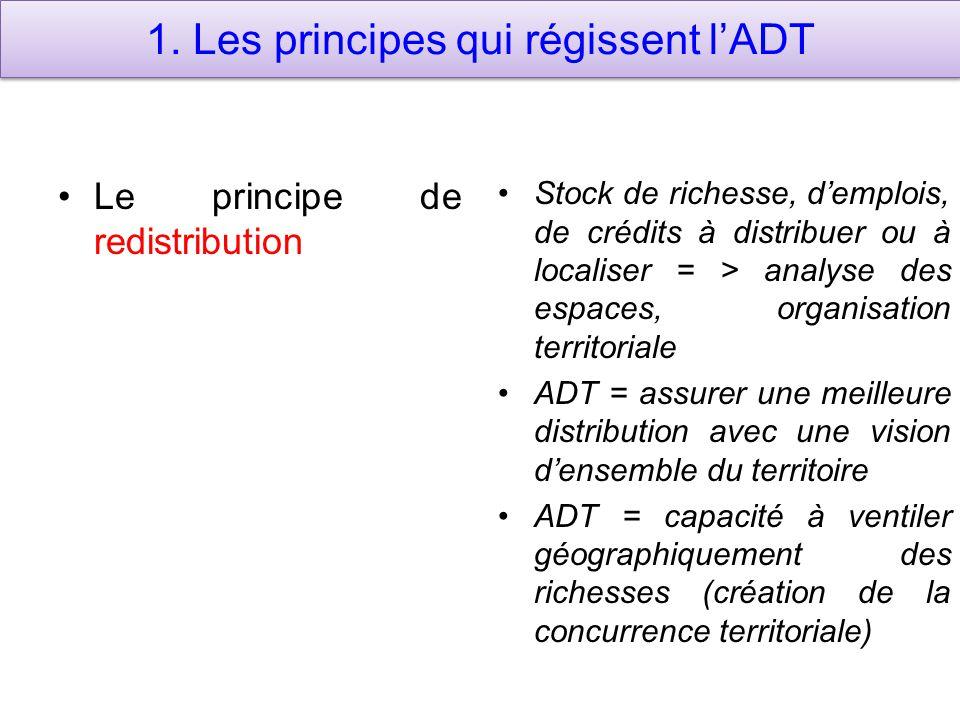 1. Les principes qui régissent l'ADT