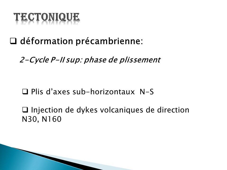 2-Cycle P-II sup: phase de plissement
