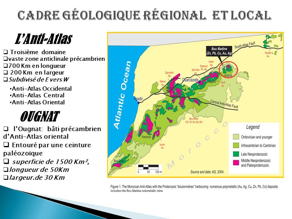 Cadre géologique régional et local
