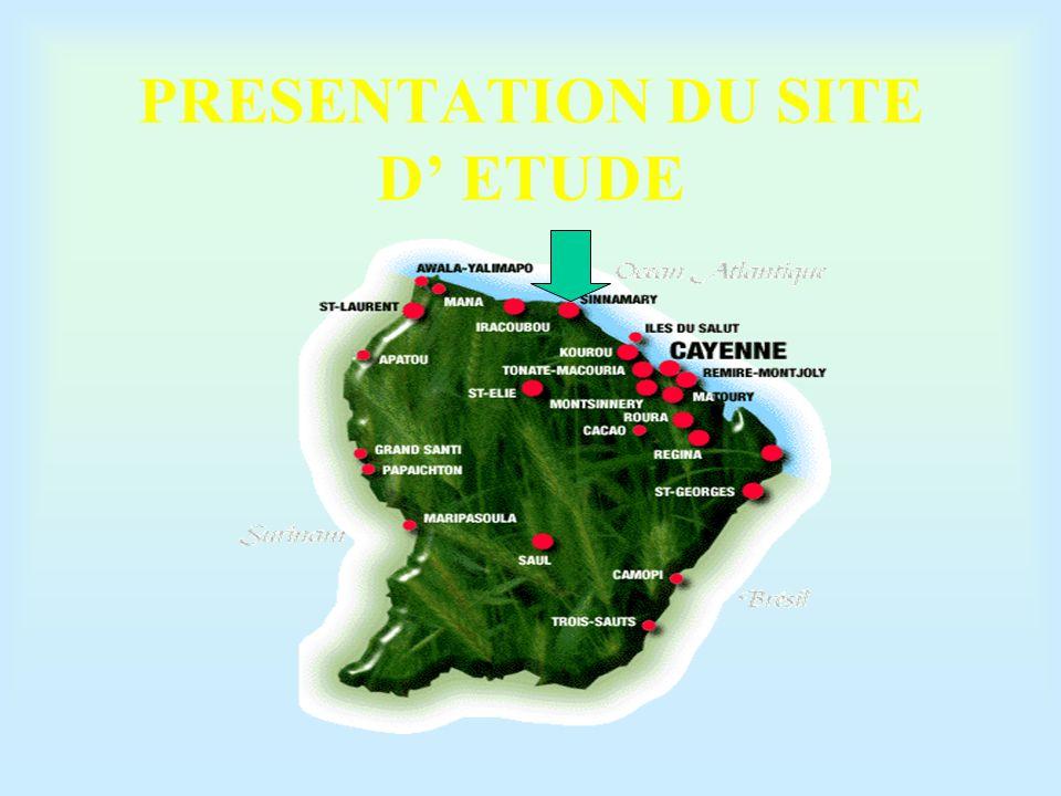PRESENTATION DU SITE D' ETUDE