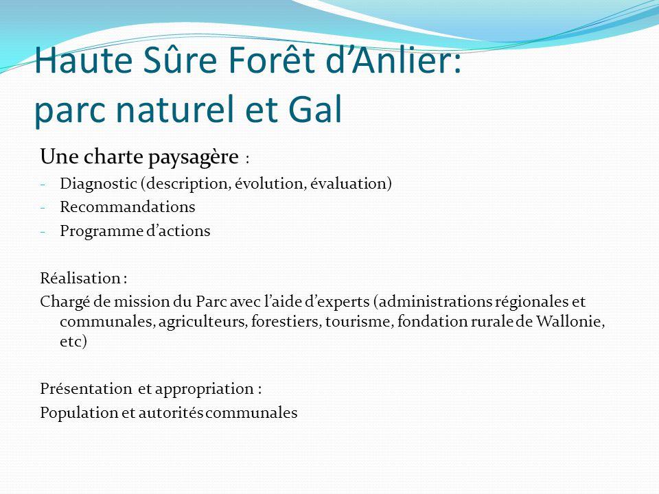 Haute Sûre Forêt d'Anlier: parc naturel et Gal