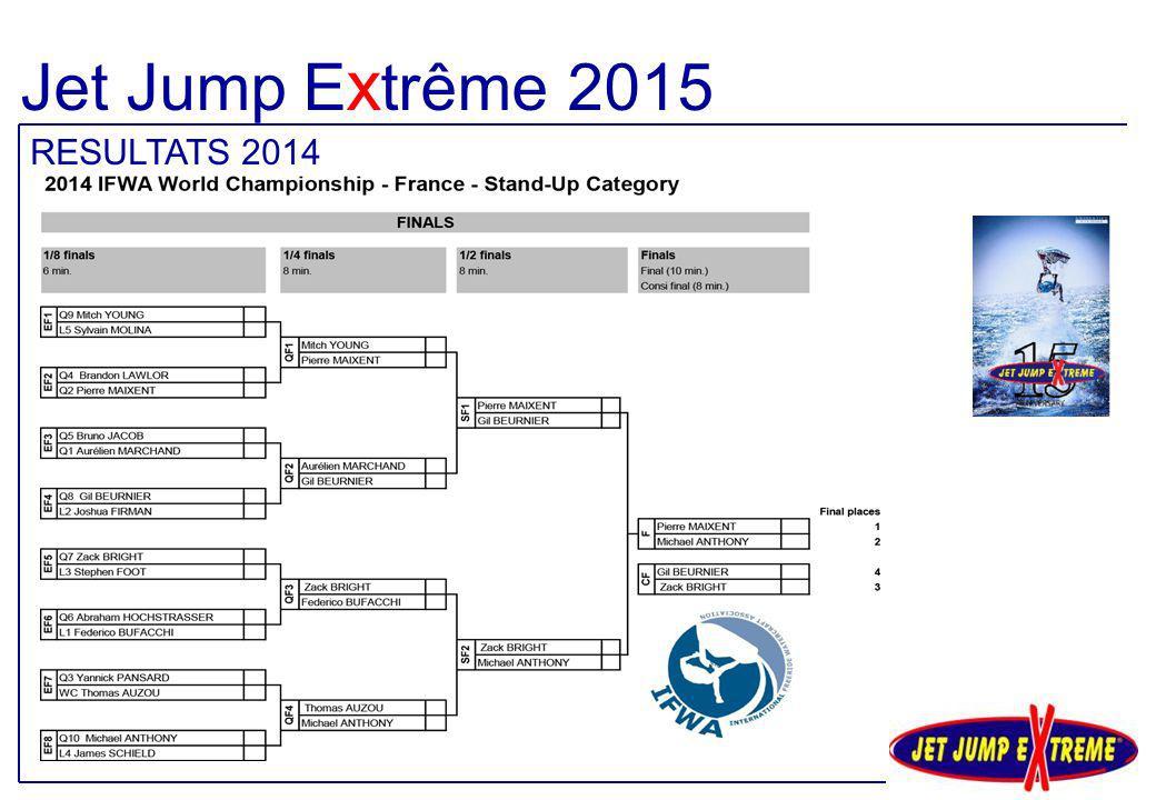 Jet Jump Extrême 2015 RESULTATS 2014
