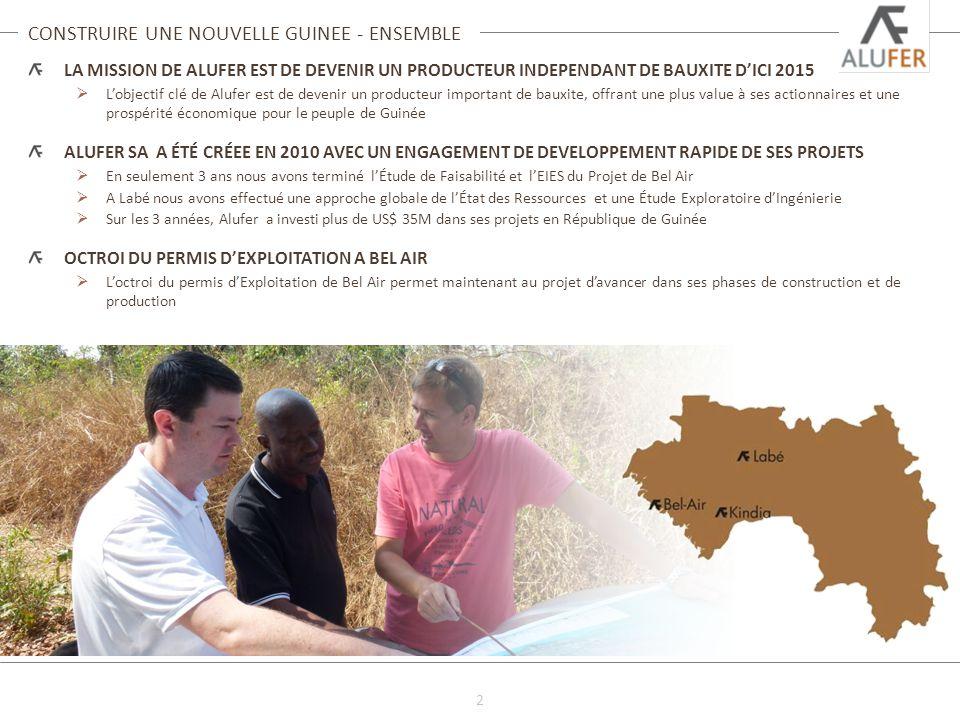 CONSTRUIRE UNE NOUVELLE GUINEE - ENSEMBLE