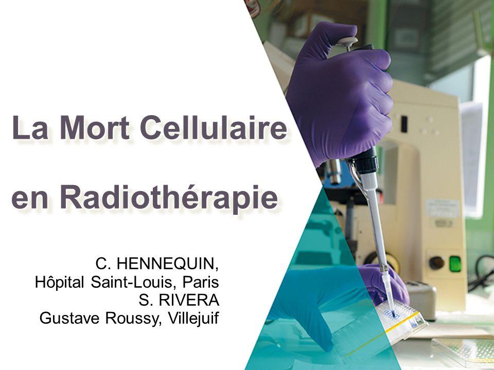 La Mort Cellulaire en Radiothérapie