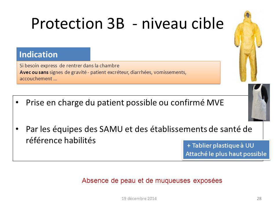 Protection 3B - niveau cible
