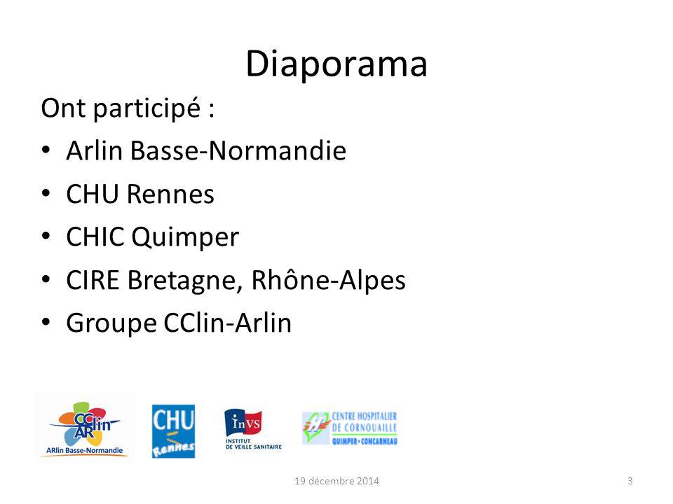 Diaporama Ont participé : Arlin Basse-Normandie CHU Rennes