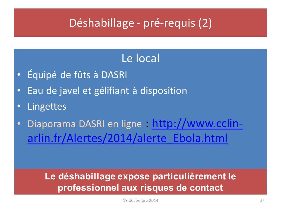 Déshabillage - pré-requis (2)