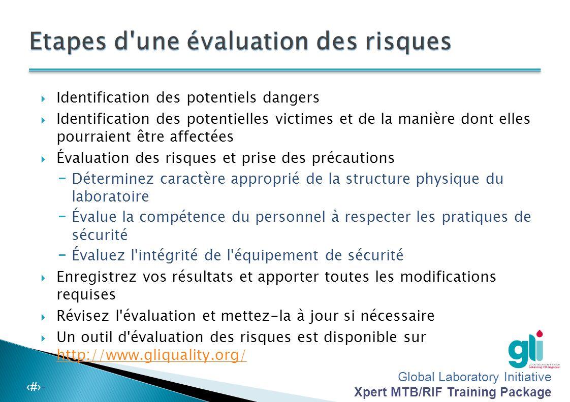 Etapes d une évaluation des risques