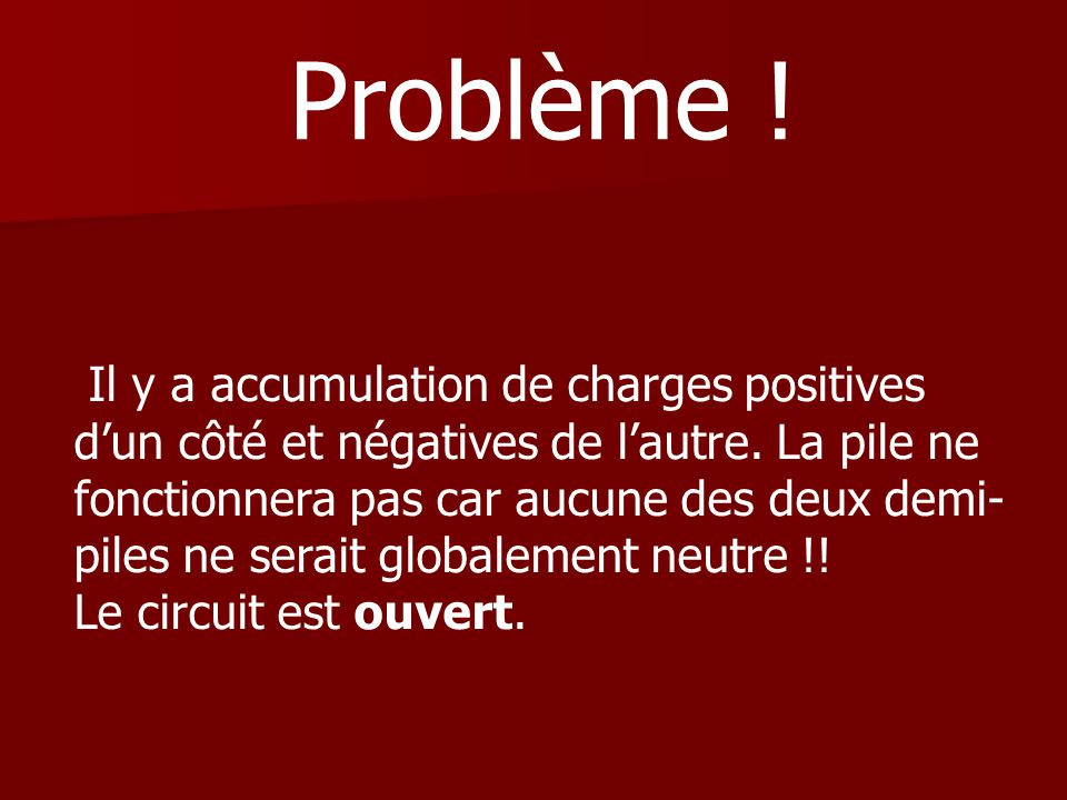 Problème !
