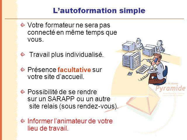 L'autoformation simple