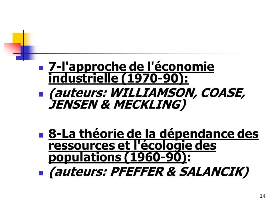 7-l approche de l économie industrielle (1970-90):