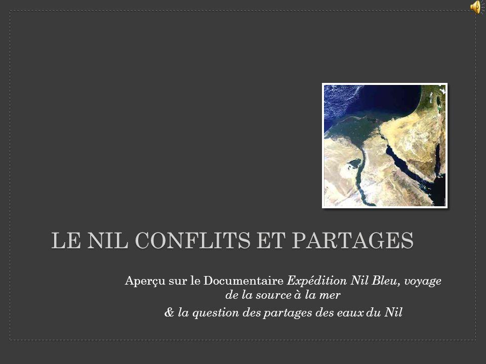 Le Nil conflits et partages