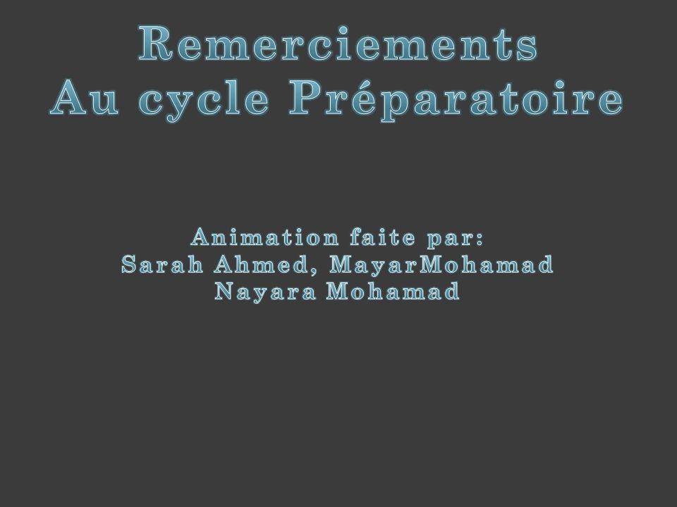 Sarah Ahmed, MayarMohamad