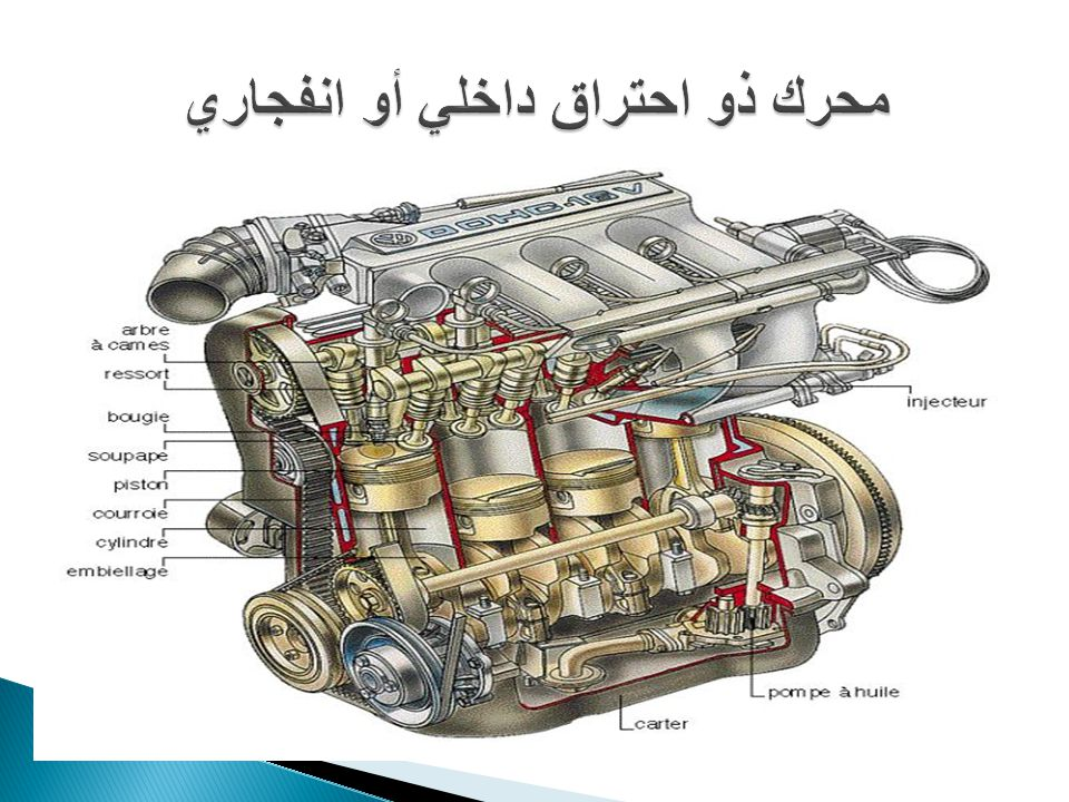محرك ذو احتراق داخلي أو انفجاري