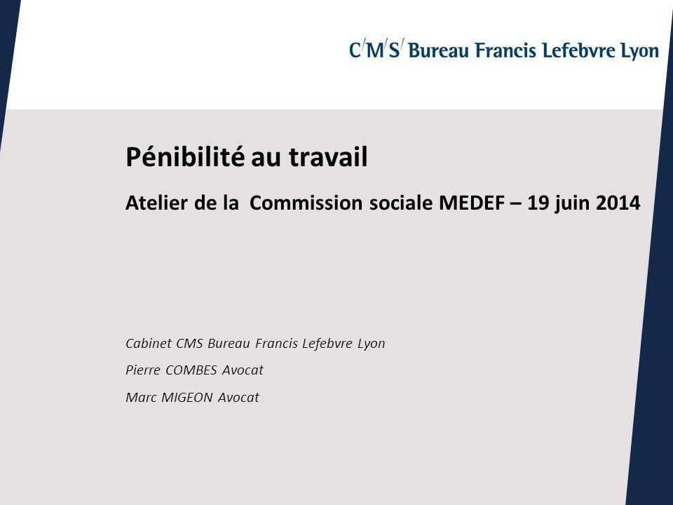 Pnibilit au travail Atelier de la Commission sociale MEDEF 19