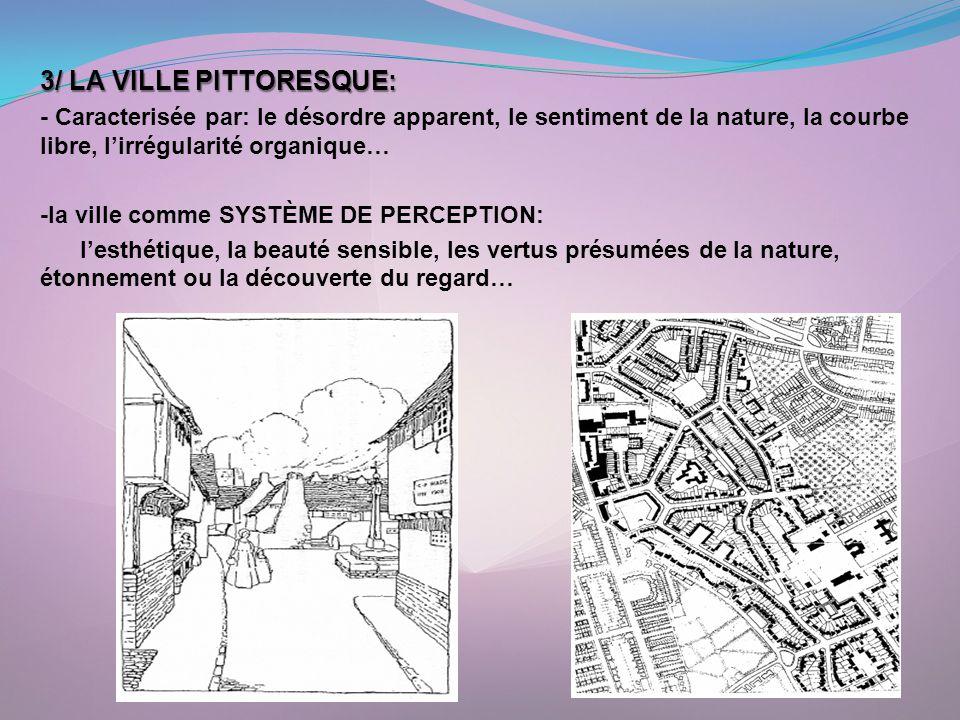 3/ LA VILLE PITTORESQUE: