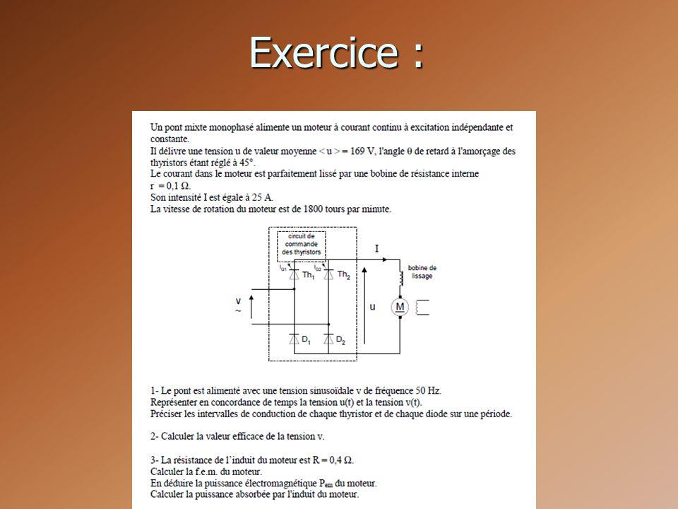 Exercice :