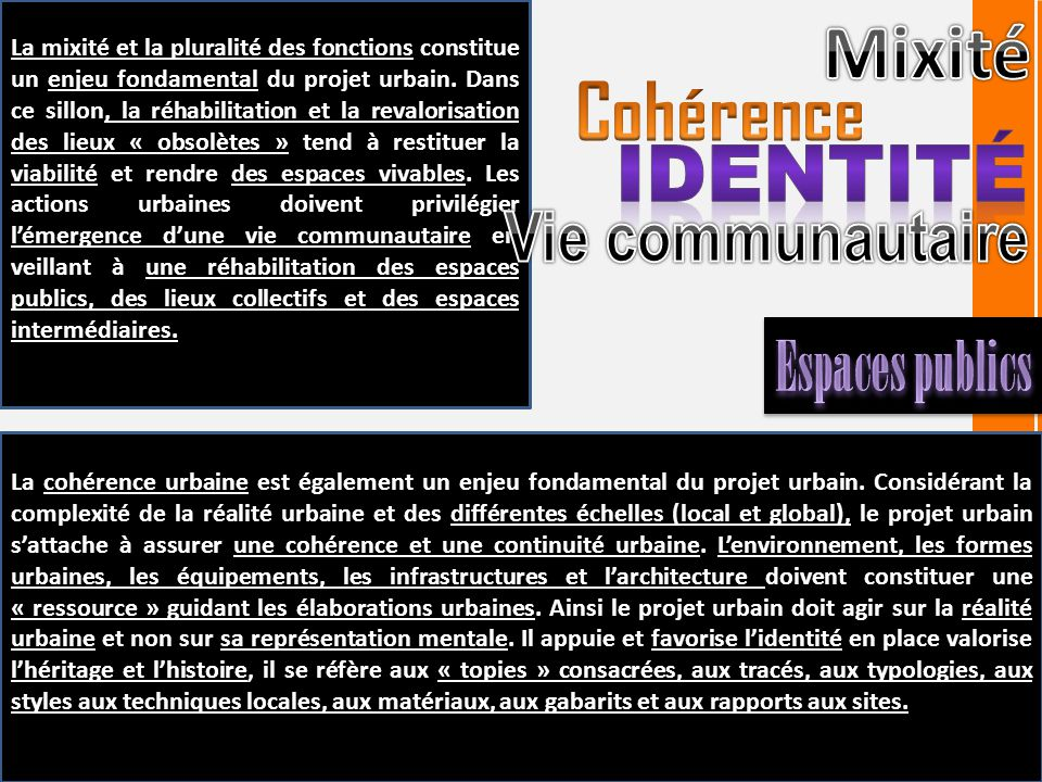 D finition concept et ou pratique abdelouahab for Architecture urbaine definition