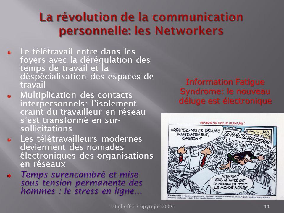 La révolution de la communication personnelle: les Networkers