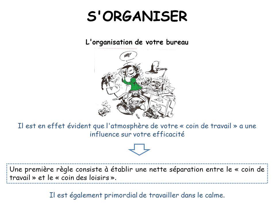 L organisation de votre bureau