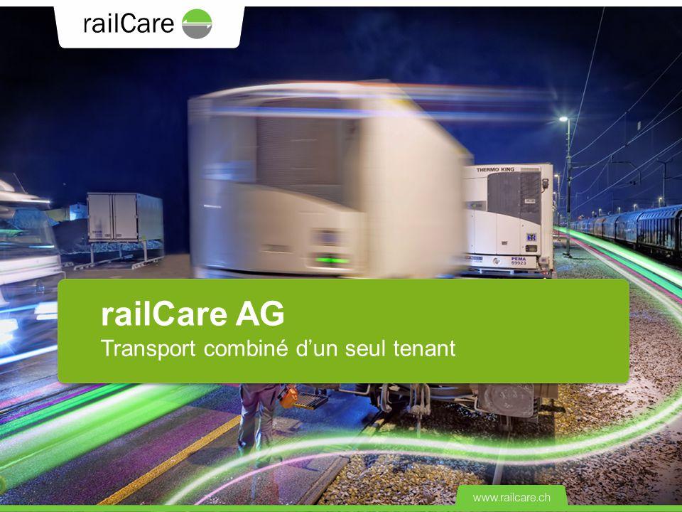 railCare AG Transport combiné d'un seul tenant