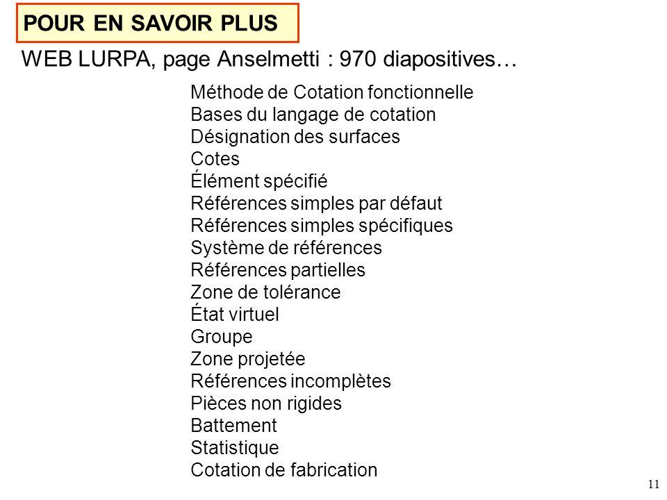 WEB LURPA, page Anselmetti : 970 diapositives…