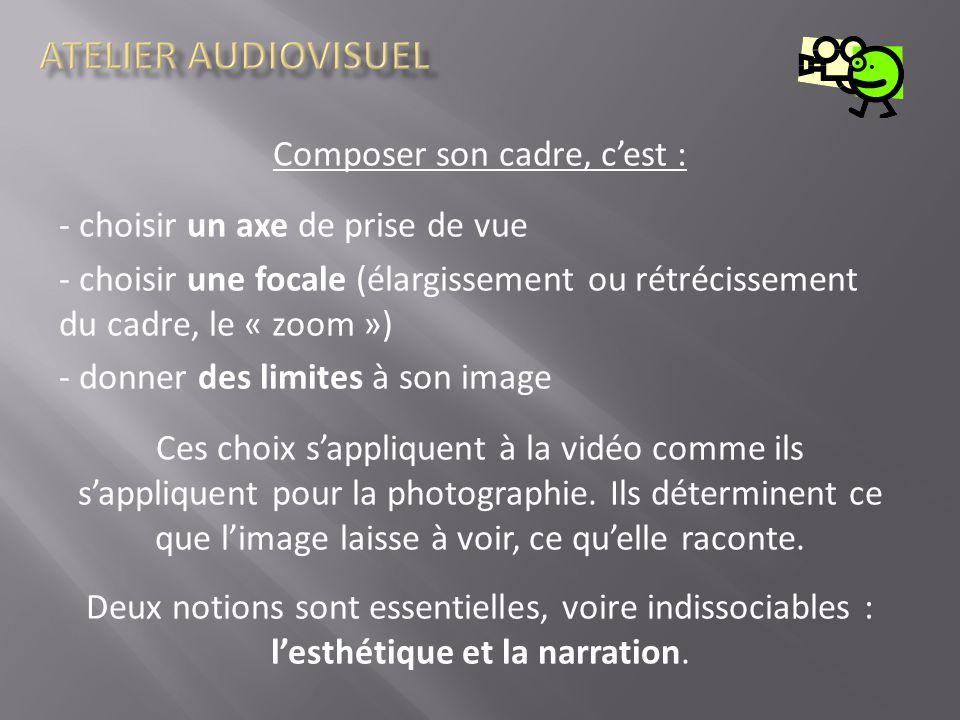 atelier audiovisuel qu est ce qu un cadre ppt t 233 l 233 charger