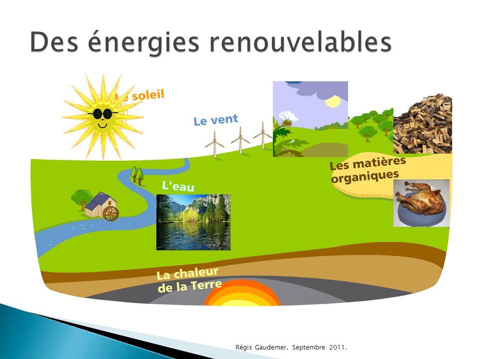 Des énergies renouvelables