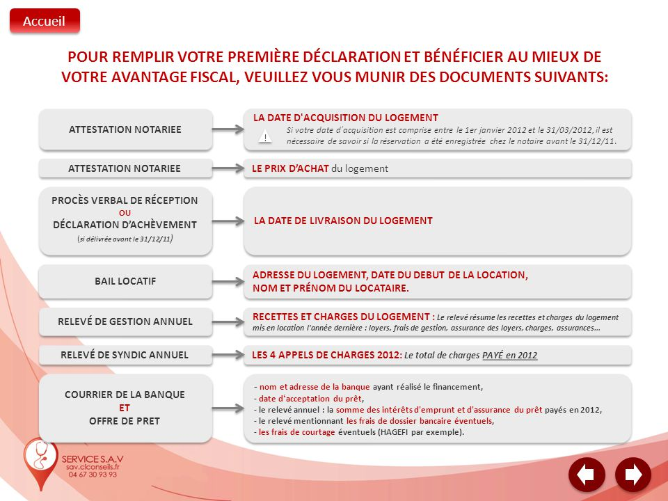Remplir votre d claration de revenus 2013 sur revenus per us en 2012 ppt video online - Declaration achevement travaux impots ...