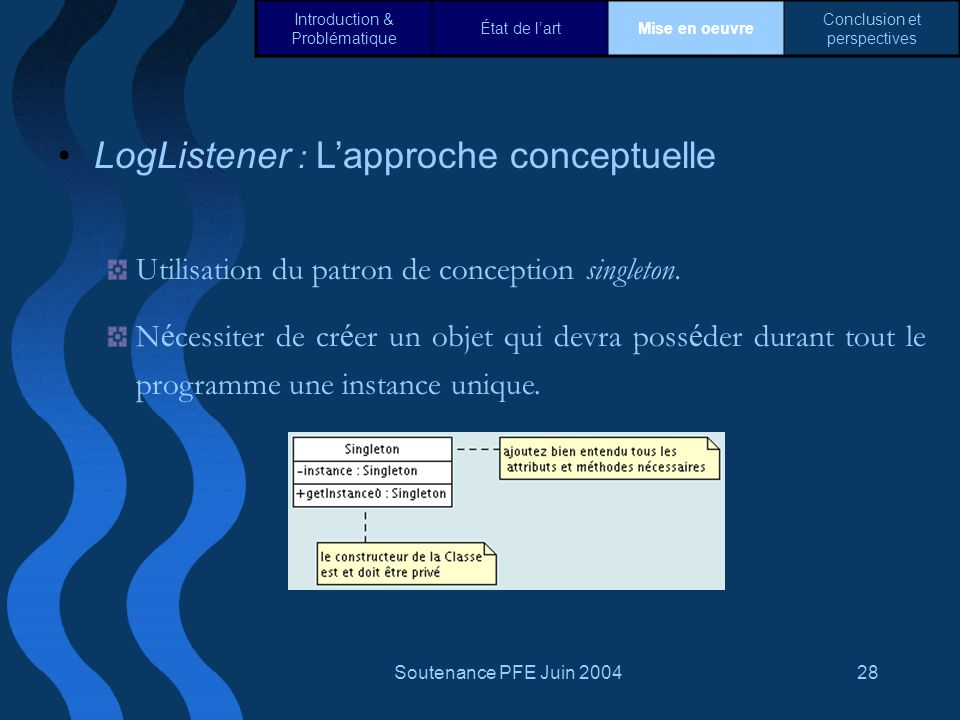 LogListener : L'approche conceptuelle