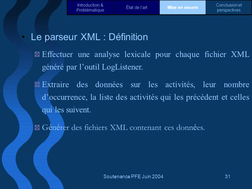 Le parseur XML : Définition