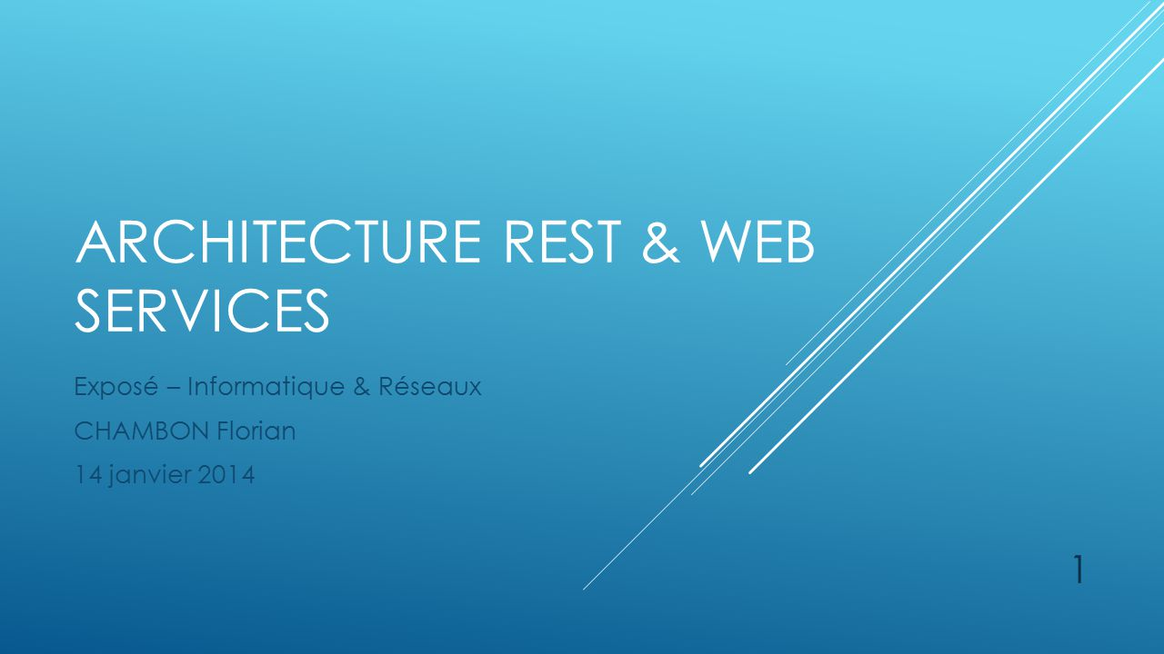 Architecture rest web services ppt video online for Architecture rest