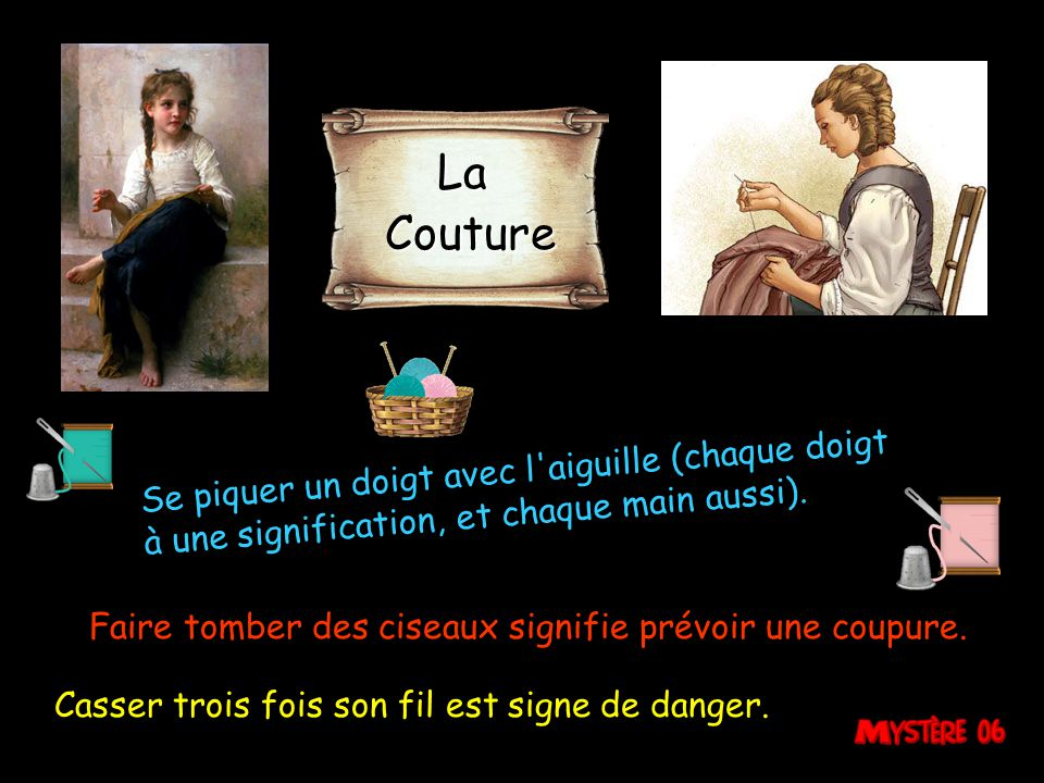 Les superstitions populaires r alisation sonore ppt for Casser un miroir signification