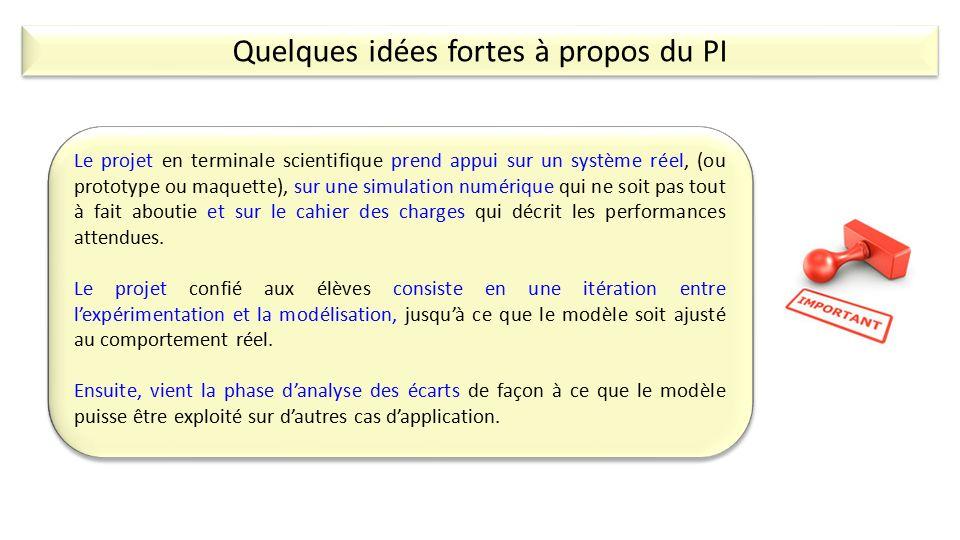 Super Le Projet Interdisciplinaire en Sciences de l'Ingénieur - ppt  SL55