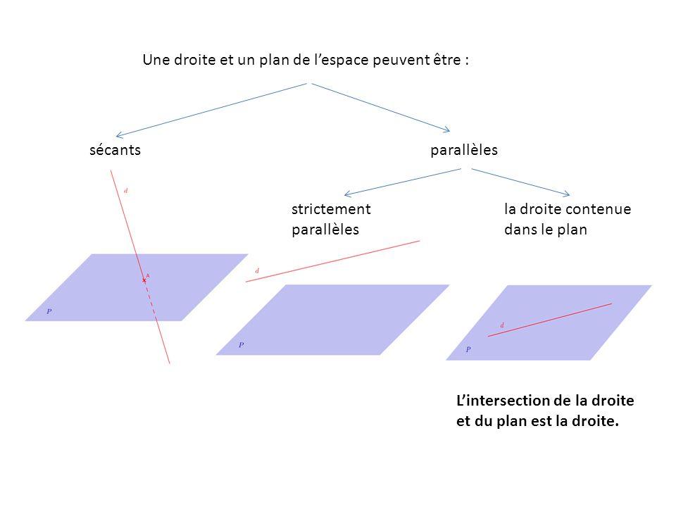 Géométrie 3D - Prisme droit, intersection, plan, droite ...