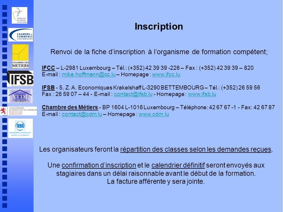 Formations pour travailleurs d sign s ppt t l charger - Chambre des metiers inscription ...