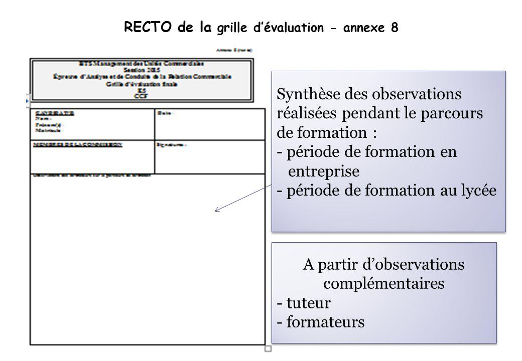 Journees de formation de l acad mie de cr teil management des unit s commerciales et 19 - Grille d evaluation formation ...