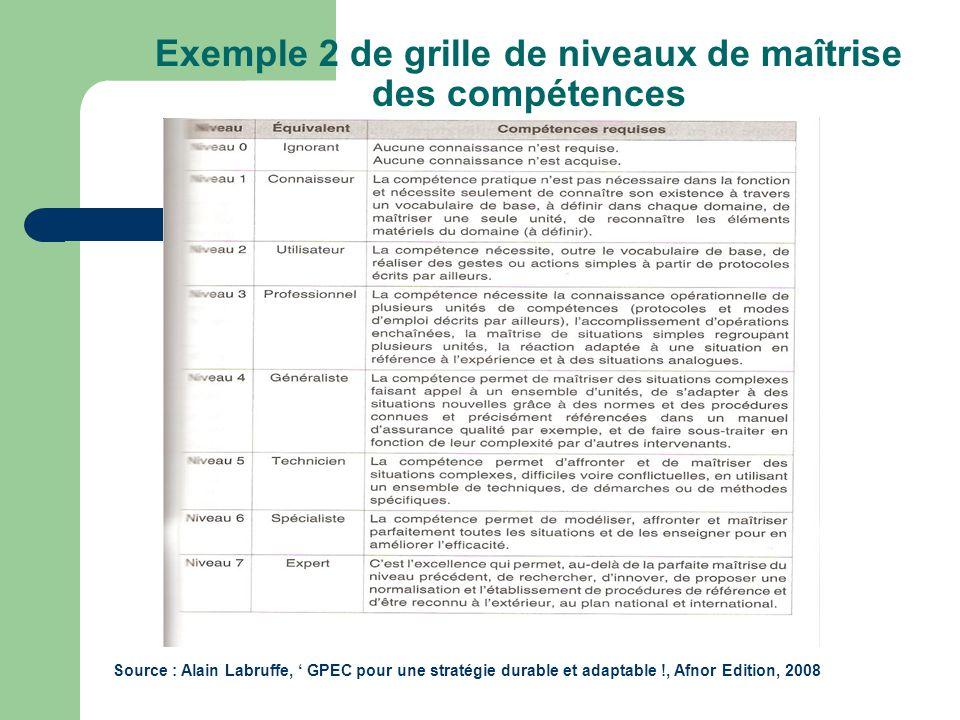 Gestion des emplois et des comp tences ppt video online - Grille des competences professionnelles ...