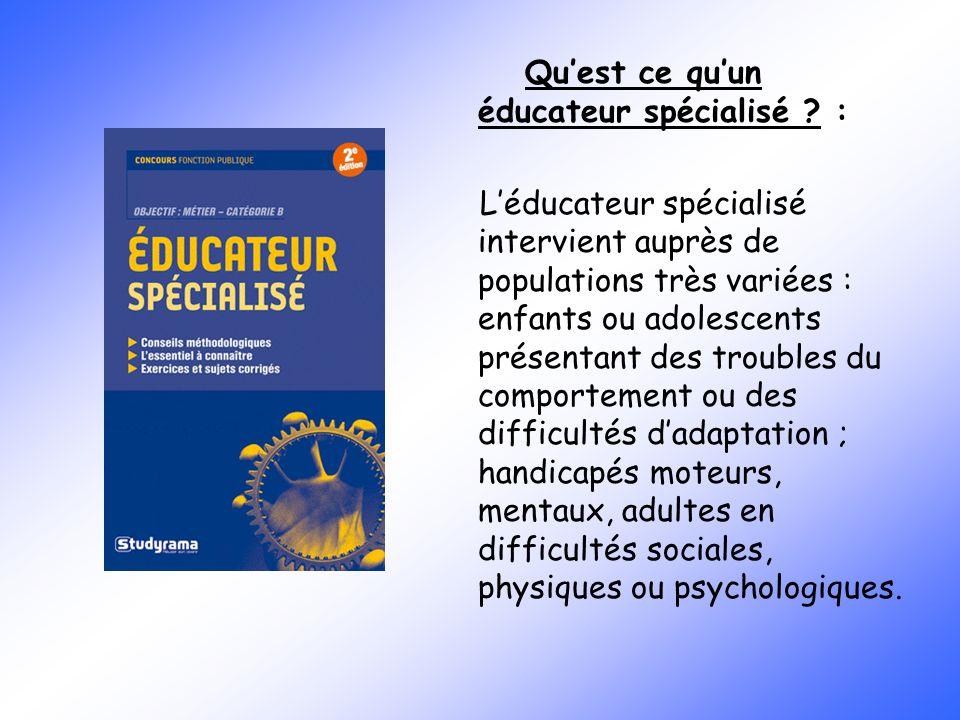 Educatrice spécialisée - ppt video online télécharger