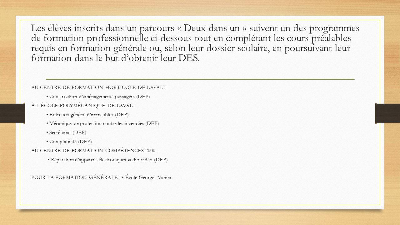 Rencontre 4e et 5e secondaire ppt video online t l charger - Formation de concierge d immeuble ...